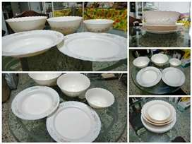 Kit de Ensaladeras en porcelana fina