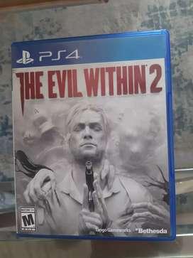 The evil within 2 ps4 cambio o vendo
