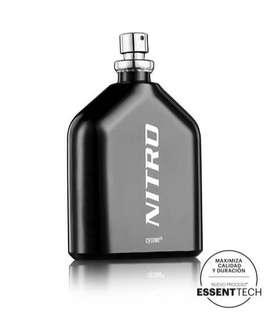 Perfumes nitro marca cyzone para hombre