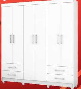 Gran oferta de armario importado grande de 6 puerta