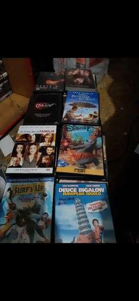 DVDs películas originales a 9000