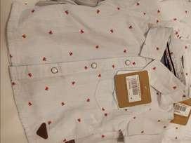 Camisa de bebe de 3 a 6 meses