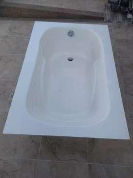 Bañera-Tina color blanca