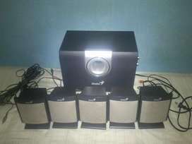 Sistema de sonido 5.1 genius 1000