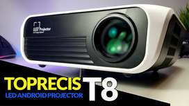 Video Beam Proyector de 4500 lumenes LED FullHD 1080p Nativo Ultra Portable Liviano - 01111
