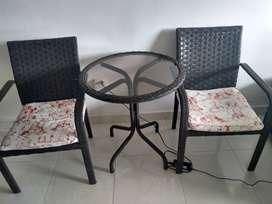 Juego muebles para exterior