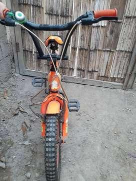 Vendo bicicleta para niño 6 años
