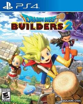 Dragon Quest Builders 2 Nuevo y Sellado PS4