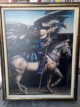Vendo pintura de David manzur