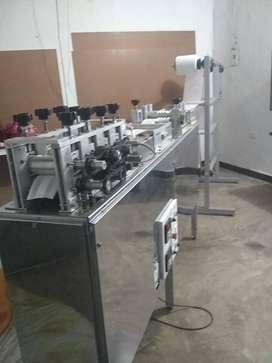 Máquina para elaboración de tapabocas