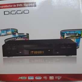 Reproductor de Dvd Karaoke Diggio