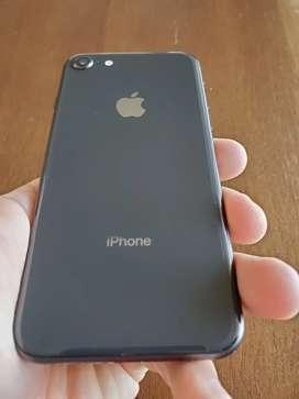 Iphone 8 64gb igual a nuevo. Batería 100%