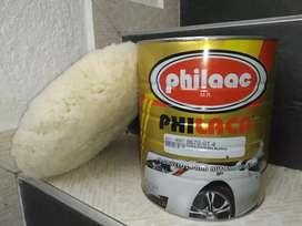 Pomo y Pasta Pulidora blanca