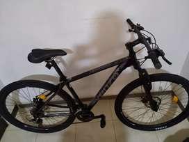 Bici Venzo  Negra con gris nueva