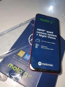 Motorola g20 nuevo a estrenar caja accesorios originales