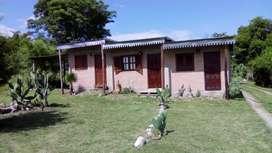 Departamento en Villa La Bolsa y La Serranita, a 2 y 5 cuadras del río. Consulte por promociones por varios días.