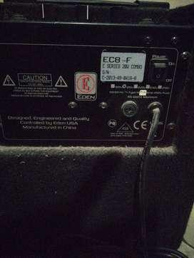 Amplificador para bajo electrico Eden
