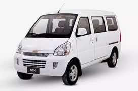 Alquiler de chevrolet minivan n300,
