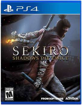 Sekiro Shadows Die Twice Playstation 4 PS4, Físico