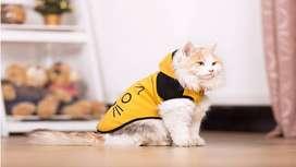 Capa con Capota para Gato bebe de 1 a 5 meses