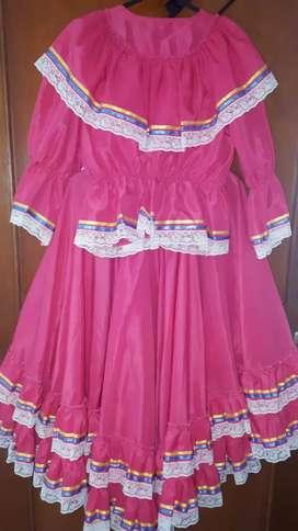 Vestido- folclor-Danzas