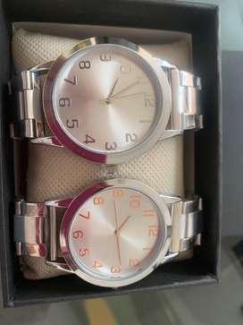 Reloj dama y caballero