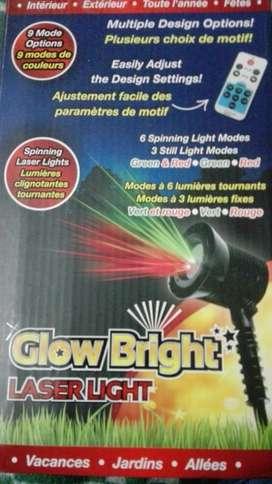 Glow bright Luz laser,control,9 modos