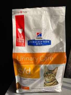 Vendo comida para gato marca hills c/d