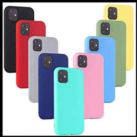 Estuches siliconas para iphone 11