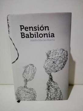 Pensión Babilonia - Adolfo Macías Huerta