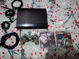 Vendo ps3 super slim o cambio por algo de mi interes