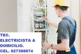TECNICO ELECTRICISTA A DOMICILIO.