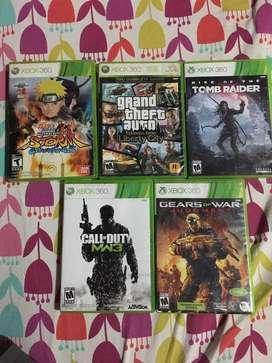 Peliculas Xbox 360, naruto , call of duty mw3, tomb raider, gears of war , GTA