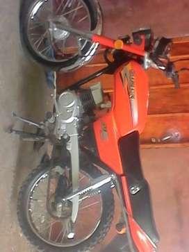 Vendo suzuki ax100 2008