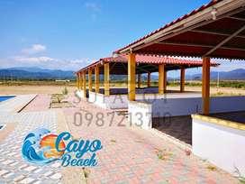 Lotes en Lotización Cayo Beach, 200m2 a 6.000 Usd, Lotes para tu casa vacacional playera en Puerto Cayo, SD1