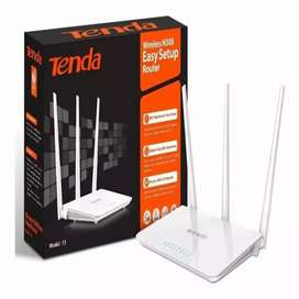 Repetidor de wifi tres antenas