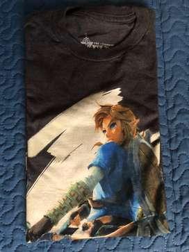 Camiseta Zelda Mujer Small