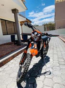 Moto KTM exc 530