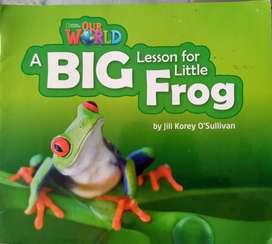 A big lesson for little frog,