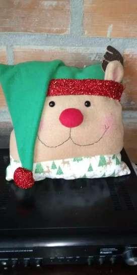 Se venden cojines navideños