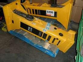 Martillo para pajarita o excavadora 9 a 12 ton