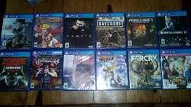 Venta de juegos de PS4