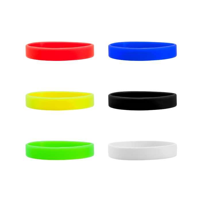 pulseras silicona 250 millar colores stop 0