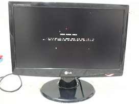 """Vendo monitor LG de 19"""" VGA con cable"""