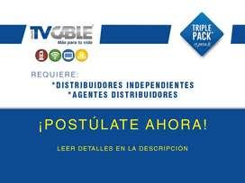 Empresa líder en el mercado busca Distribuidores para la ciudad de Cuenca para TV pagada, Intenet, Telefonía.