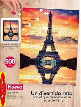 ROMPECABEZAS TORRE EIFFEL X 500 PIEZAS