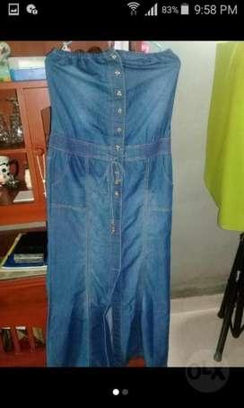 Hermoso Vestido en Jean