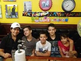Venta de Pizzería Café Bar, en San Gil