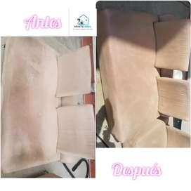 Lavado de muebles , colchones y alfombras