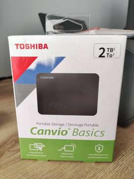 Disco Duro portable USB Toshiba Canvio Basics 2 TB
